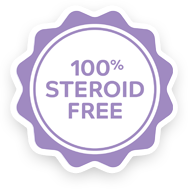 100% Sterioid free learn more
