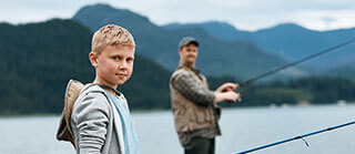 Father And Son Fishing 1