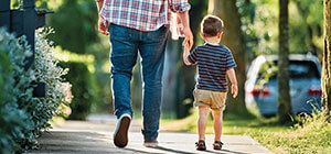 Father Son Walking 3