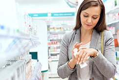 EUCRISA® (crisaborole) Woman At Pharmacy 1